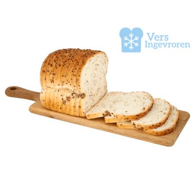 Goudeerlijk Halfje Gesneden Boeren Licht Meerzaden Brood (Vers Ingevroren)