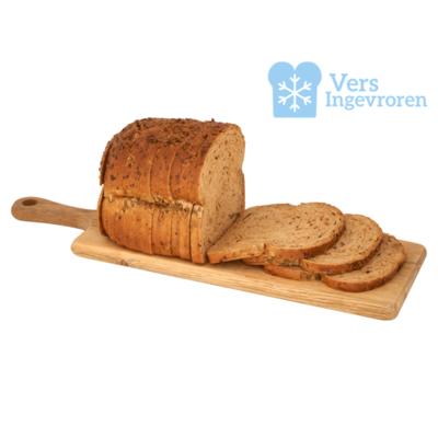 Goudeerlijk Halfje Gesneden Boeren Pompoen Brood (Vers Ingevroren)