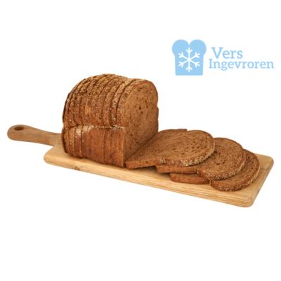 Goudeerlijk Halfje Gesneden Donker Meergranen Brood (Vers Ingevroren)