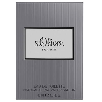 S. Oliver For him eau de toilette natural spray