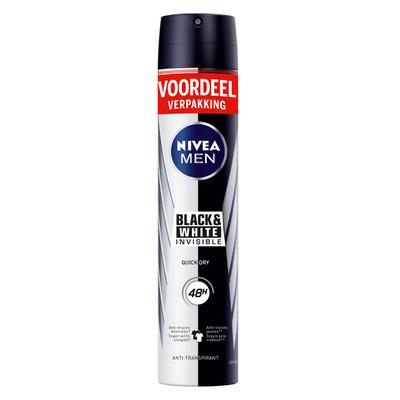 Nivea Men invisible black & white spray