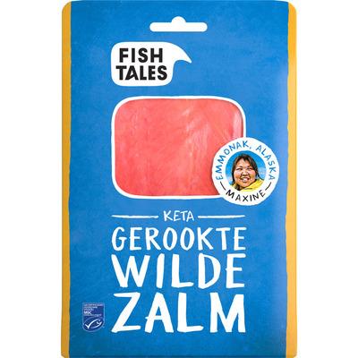 Fish Tales Keta gerookte zalm