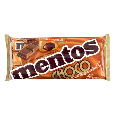 Mentos Choco & caramel filled with chocolate