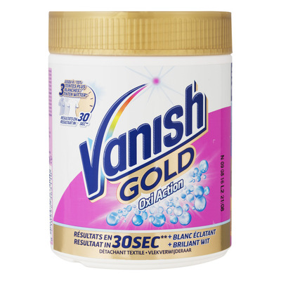 Vanish Oxi action gold white poeder