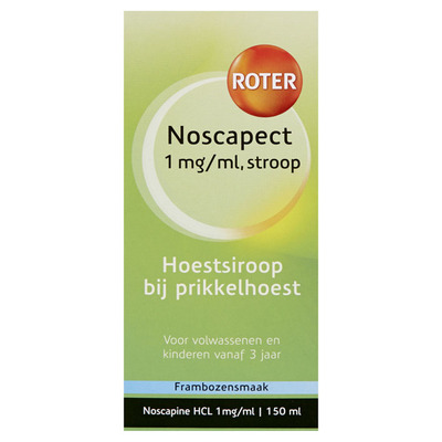 Roter Noscapect 1 mg/ml hoestsiroop