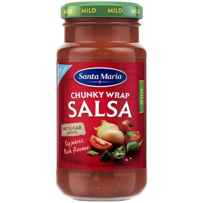 Santa Maria Chunky wrap salsa mild