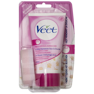 Veet In-shower ontharingscrème nor. huid