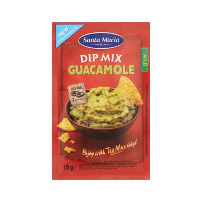 Santa Maria Dip Mix Guacamole Mild