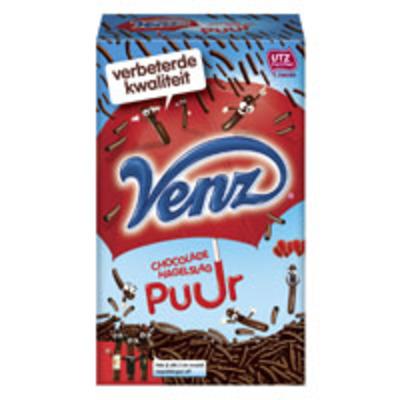Venz Chocoladehagelslag puur