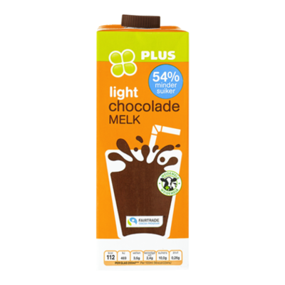 Huismerk Fairtrade chocolademelk light