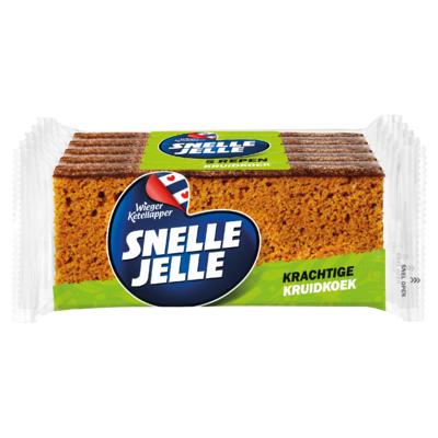 Snelle Jelle Kruidkoek Naturel 5-pack 350 g