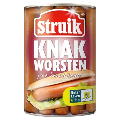 Struik Knakworst 10 stuks