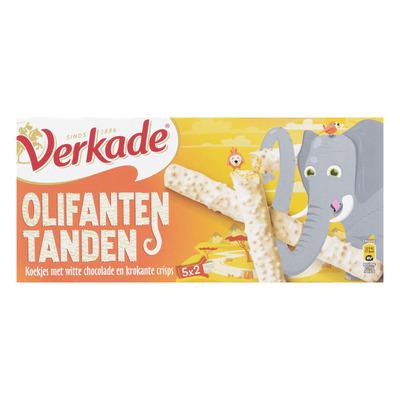 Verkade Dier&co olifantentanden