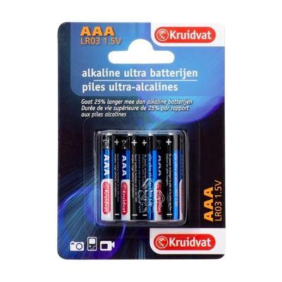 Kruidvat Ultra Mini AAA Penlite Batterijen