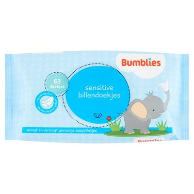 Bumblies Billendoekjes Sensitive 63 Stuks