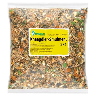 Ranzijn Tuin & Dier Knaagdier-Smulmenu 2 kg