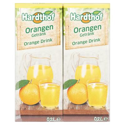 Hardthof Sinaasappeldrink 10 x 0,2 L