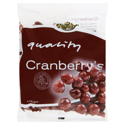 Royalty Cranberry's 175 g