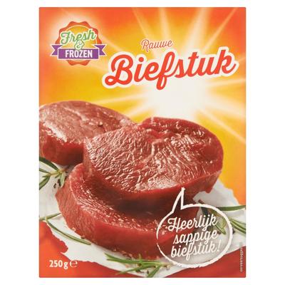 Fresh Frozen Biefstuk 250 g