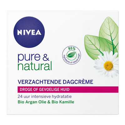 Nivea Pure & natural dagcreme droog