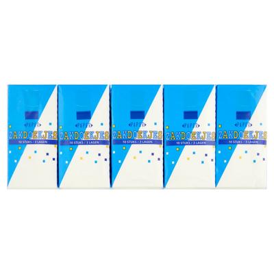 Paper Zakdoekjes 3 Lagen 15 x 10 Stuks