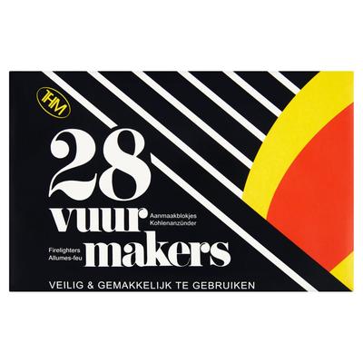 THM Vuurmakers Aanmaakblokjes 28 Stuks