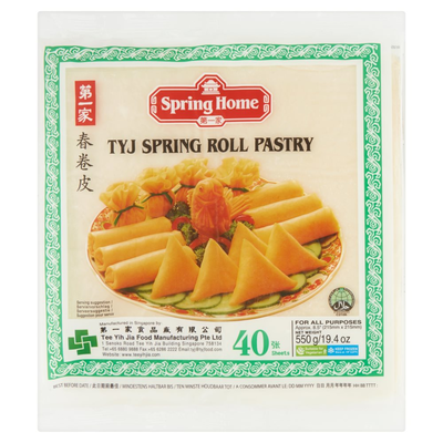 Spring Home TYJ Spring Roll Pastry 40 Blad 500 g
