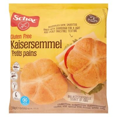 Schär Gluten Free Kaisersemmel Petits Pains 6 x 58 g