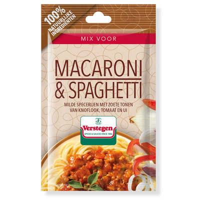 Verstegen Kruidenmix macaroni spaghetti