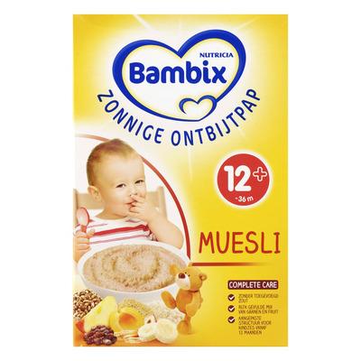 Bambix Mijn eerste muesli peuter ontb. 12 mnd.