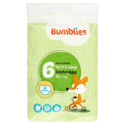 Bumblies Luiersbroekjes Extra Large 16+ kg 20 Stuks