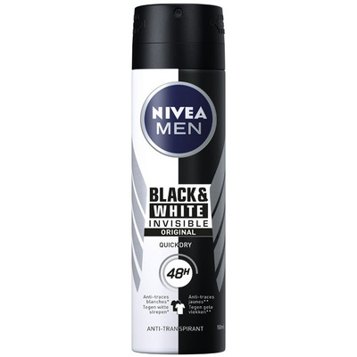 Nivea Men invisible black & white power spray