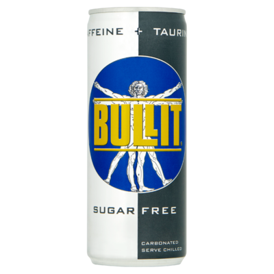 bullit energy drink sugar free 24 x 250 ml 24 x 250ml. Black Bedroom Furniture Sets. Home Design Ideas