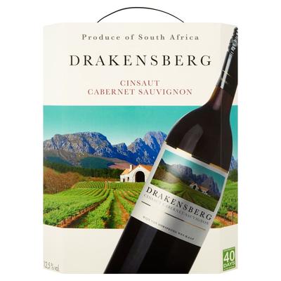 Drakensberg Cinsaut Cabernet Sauvignon Rood 3 L