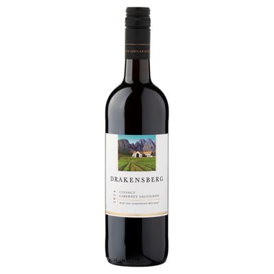 Drakensberg Cinsaut Cabernet Sauvignon Rood 0,75 L