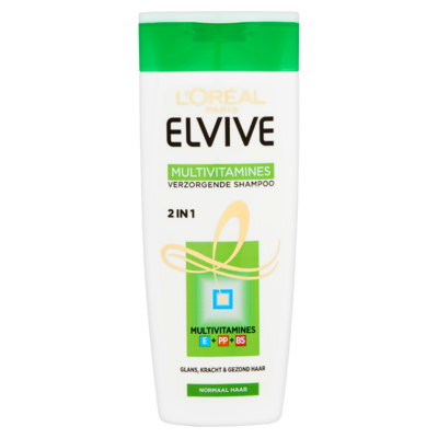 Elvive Multivitamines 2 in 1 Verzorgende Shampoo 250 ml