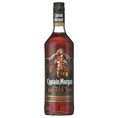 Captain Morgan Black label Jamaican rum