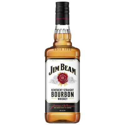 Jim Beam Kentucky straight bourbon whiskey