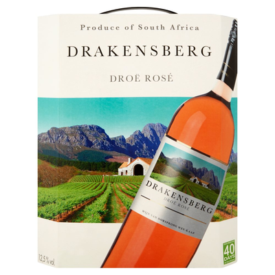 Drakensberg Droë Rosé 3 L