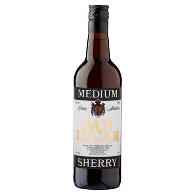 San Lucar Medium Sherry 0,75 L