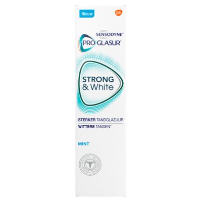 Sensodyne Proglasur Strong & White Mint Tandpasta 75 ml