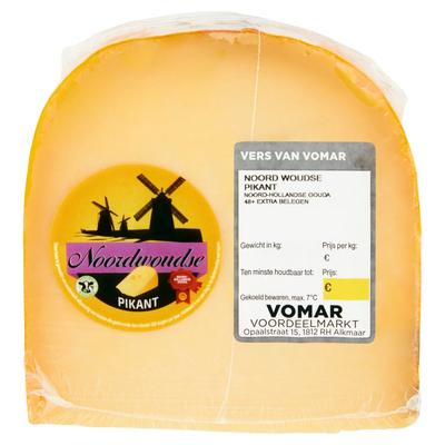 Vomar Noordwoudse Extra Belegen Pikant 48+ Stuk ca. 490 g