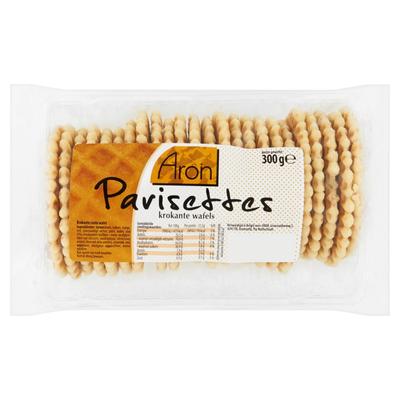Aron Parisettes Krokante Wafels 300 g