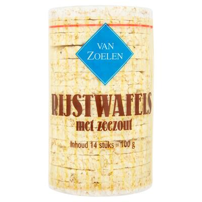 Van Zoelen Rijstwafels Zeezout 14 Stuks 100 g
