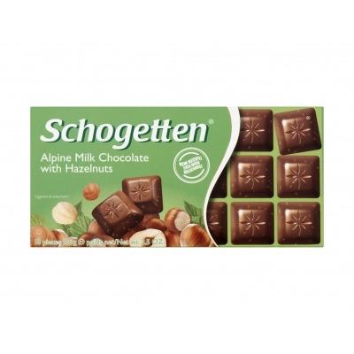 Schogetten Alpine milk with hazelnuts