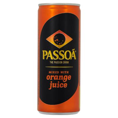 Passoã mixed with Orange Juice 25 cl