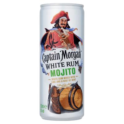 Captain Morgan Caribbean Rum & Cola Mixed Drink 250 ml