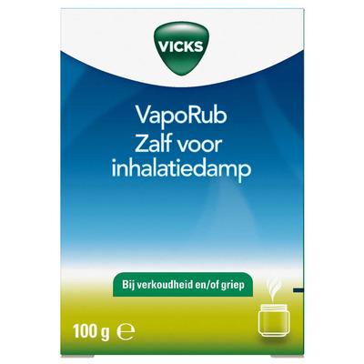 Vicks VapoRub zalf voor inhalatiedamp