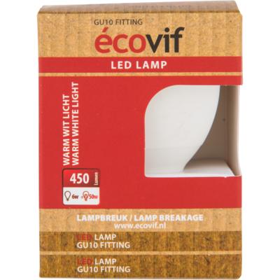 Écovif Ledlamp 6w gu10