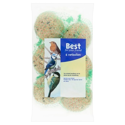 Best For Your Friend Mezenbollen 6 Stuks